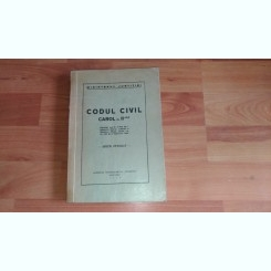 CODUL CIVIL CAROL AL II-LEA-MINISTERUL JUSTITIEI