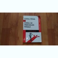 CODUL PENAL SI CODUL DE PROCEDURA PENALA-AUREL CIOBANU -PETRUT CIOBANU