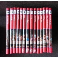 COLECTIA PICTORI DE GENIU, ADEVARUL, 14 VOLUME, COLECTIE COMPLETA