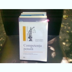 COMPETENTA PENALA - THEODOR MREJERU