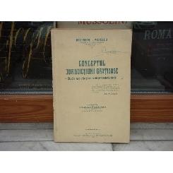 Conceptul jurisdictiunii gratioase - studiu evolutiv si critic de procedura civila , Valentin I. Popescu