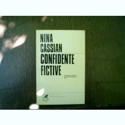 Confidente fictive proze - Nina Cassian