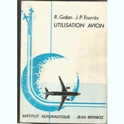 CONNAISSANCE AVION - R. GALAN  (CARTE IN LIMBA FRANCEZA)