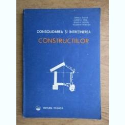 CONSOLIDAREA SI INTRETINEREA CONSTRUCTIILOR - CORNELIU NISTOR