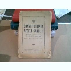 CONSTITUTIUNEA REGELE CAROL II