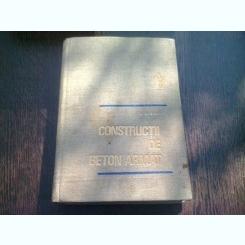 CONSTRUCTII DE BETON ARMAT - A. MIHUL