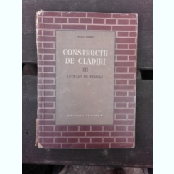 CONSTRUCTII DE CLADIRI - S. ANDREI  VOL.III FINISAJE