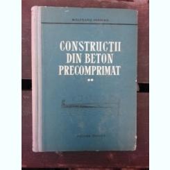 CONSTRUCTII DIN BETON PRECOMPRIMAT - WOLFGANG HERBERG VOL.II