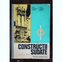 CONSTRUCTII SUDATE - MANUAL PENTRU LICEE INDUSTRIALE - I.JAKOB/I SONEA & CO