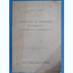 CONTRACTUL DE ASIGURARE SI PROBLEMA RISCURILOR CREDITULUI-VIRGIL VENIAMIN