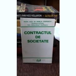 CONTRACTUL DE SOCIETATE - DAN A. POPESCU
