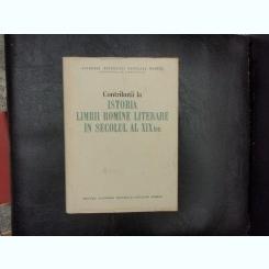 Contributii la istoria limbii romine literare in secolul al XIX-lea - Tudor Vianu