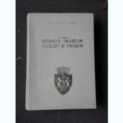 Contributii la istoricul oraselor Ploiesti si Targsor - George Potra