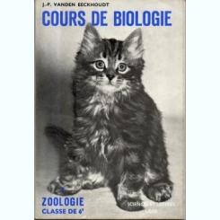 Cours de biologie - Jean Pierre Vanden Eeckhoudt  (zoologie, clasa 6, text in limba franceza)