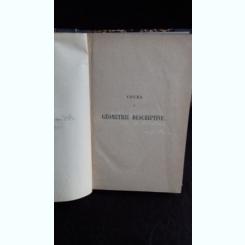 COURS DE GEOMETRIE DESCRIPTIVE - CH. BRISSE