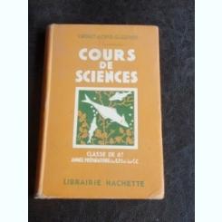 COURS DE SCIENCES - V. BOULET