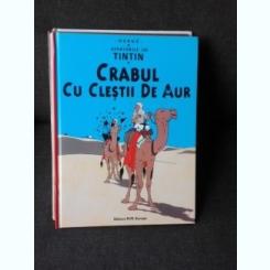 CRABUL CU CLESTII DE AUR, AVENTURILE LUI TINTIN, CARTE CU BENZI DESENATE