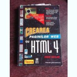 CREAREA PAGINILOR WEB CU HTML 4- DAVE TAYLOR