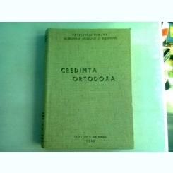 CREDINTA ORTODOXA