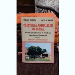 CRESTEREA ANIMALELOR DE FERMA - STELIAN DINESCU   3VOL.