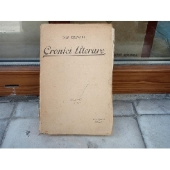 Cronici literare , Ion Trivale , 1915