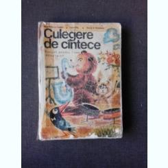 CULEGERE DE CANTECE, MANUAL PENTRU LICEE PEDAGOGICE - ANA MOTORA-IONESCU