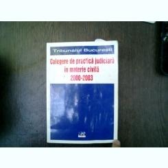Culegere de practica judiciara in materie civila 2002-2003 - Maria Huza, Mona-Lisa Pucheanu