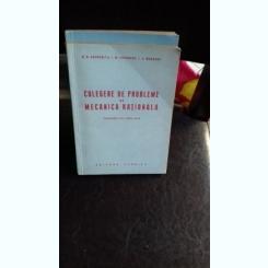CULEGERE DE PROBLEME DE MECANICA RATIONALA - N.N. BUCHHOLTZ