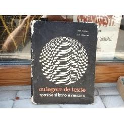 Culegere de texte spaniole si latino-americane , Renne Jerusalmi , 1969