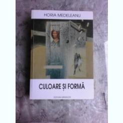 CULOARE SI FORMA - HORIA MEDELEANU