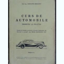 Curs de automobile - Constantin Mihailescu  (teoretic si practic)