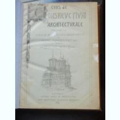 CURS DE CONSTRUCTIUNI ARHITECTURALE - PETRU POPESCU PASCANU