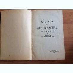 CURS DE DREPT INTERNATIONAL PUBLIC-G. MEITANI