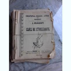 CURS DE ETNOGRAFIE - S. MEHEDINTI