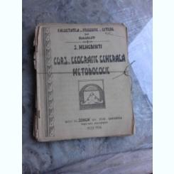 CURS DE GEOGRAFIE GENERALA SI METODOLOGIE - SIMION MEHEDINTI