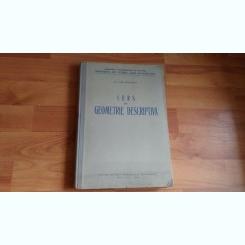 CURS DE GEOMETRIE DESCRIPTIVA-CONF. HORIA BODNARESCU