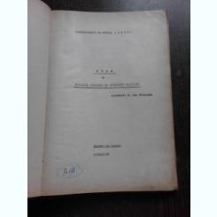 CURS DE METODICA PREDARII SI STUDIULUI PIANULUI , 1966/1967 - M. DAN RADUCANU