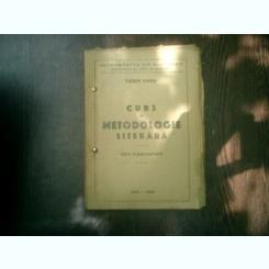 Curs de metodologie literara note stenografiate - Tudor Vianu