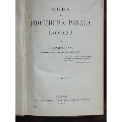 CURS DE PROCEDURA PENALA ROMANA - I. TANOVICEANU