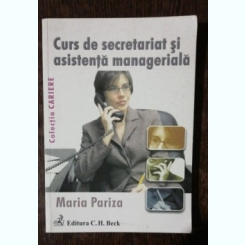 CURS DE SECRETARIAT SI ASISTENTA MANAGERIALA - MARIA PARIZA