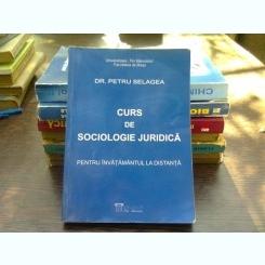Curs de sociologie juridica - Petru Selagea  (pentru invatamantul la distanata)