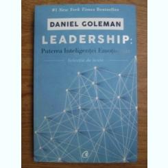 Daniel Goleman - Leadership: puterea inteligentei emotionale