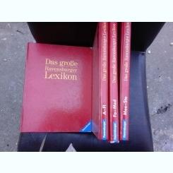 DAS GROßE RAVENSBURGER LEXIKON  4 VOLUME, TEXT IN LIMBA GERMANA