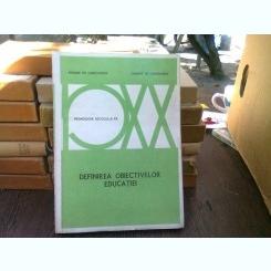 Definirea obiectivelor educatiei - Vivienne de Landsheere