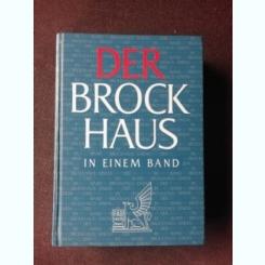 DER BROCKHAUS IN EINEM BAND (TEXT IN LIMBA GERMANA)
