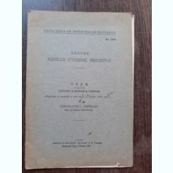 DESPRE KISTELE UTERINE PRIMITIVE - CONSTANTIN I. ANDREOIU  (TEZA DE DOCTORAT, CU DEDICATIE)