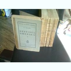 DESTINUL OMENIRII - P. P. NEGULESCU    4 VOLUME