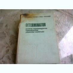 DETERMINATOR PENTRU RECUNOASTEREA DAUNATORILOR PLANTELOR CULTIVATE - V. ROGOJANU