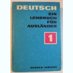 DEUTSCH EIN LEHRBUCH FUR AUSLANDER , VOL. I , 1978
