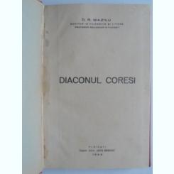 Diaconul Coresi - D.R. Mazilu